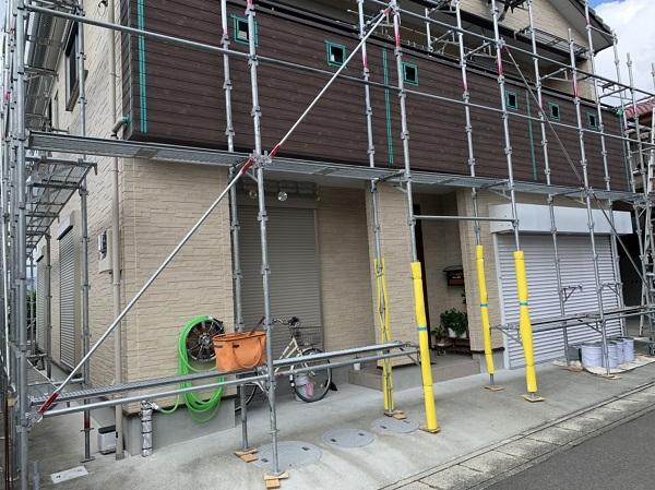 徳島県阿波市 シーリング(コーキング工事) 劣化症状 工事の工程