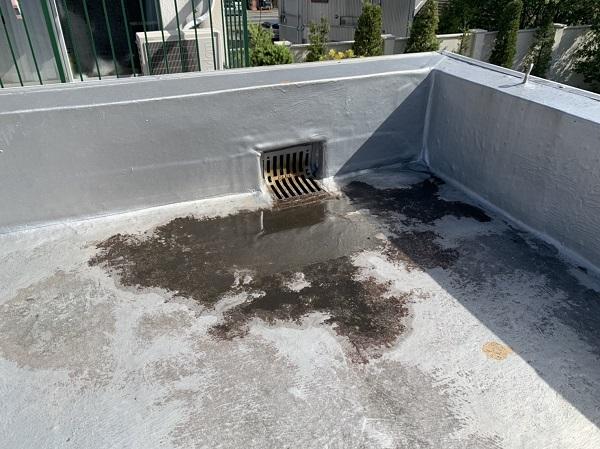 徳島県徳島市 防水工事 無料現場調査 陸屋根 シート防水 (2)