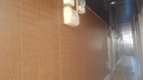 徳島県鳴門市 外壁塗装 付帯部塗装 アパート アステック リファイン1000