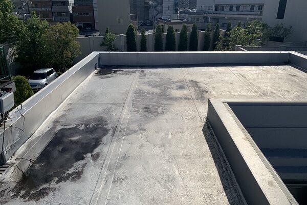 徳島県徳島市 防水工事 無料現場調査 陸屋根 シート防水 (1)
