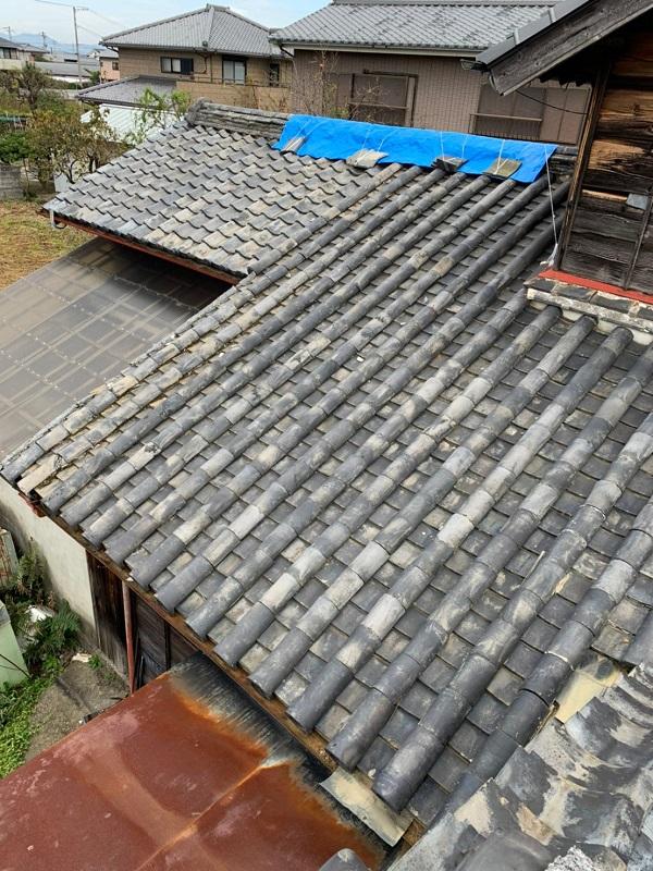 徳島県名西郡 屋根葺き替え工事 雨漏りスピード診断 雨漏りの放置は大変危険です!