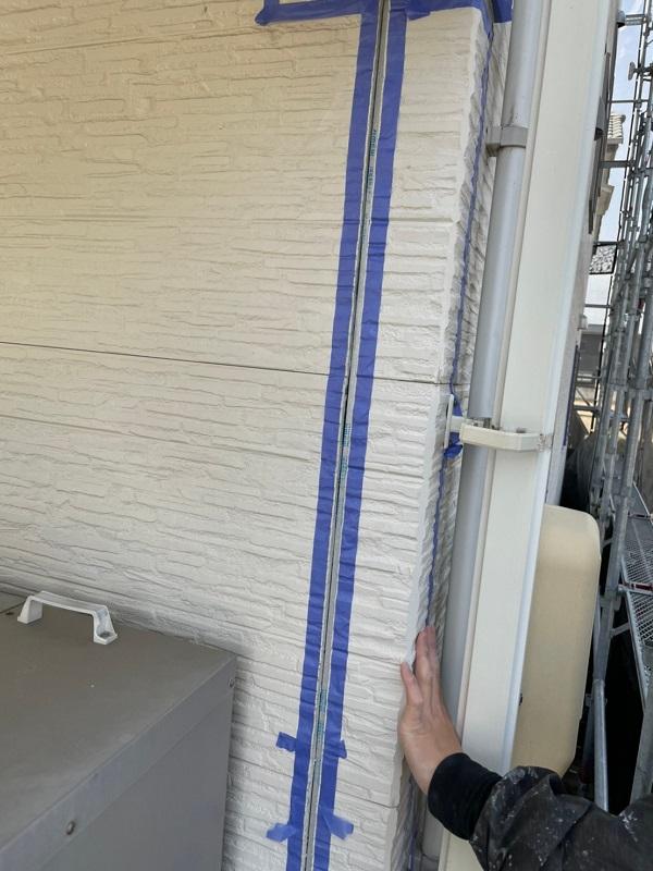 徳島県小松島市 S様邸 外壁塗装 シーリング(コーキング)工事 手順