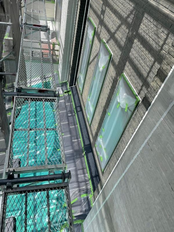 徳島県小松島市 S様邸 シーリング工事後の状態 下塗りの役割とは (2)