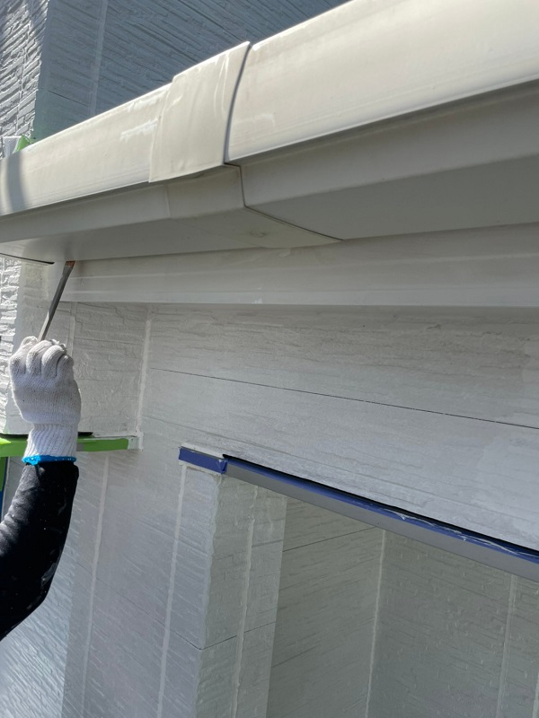 徳島県小松島市 S様邸 外壁塗装 鼻隠しとは 付帯部塗装の重要性