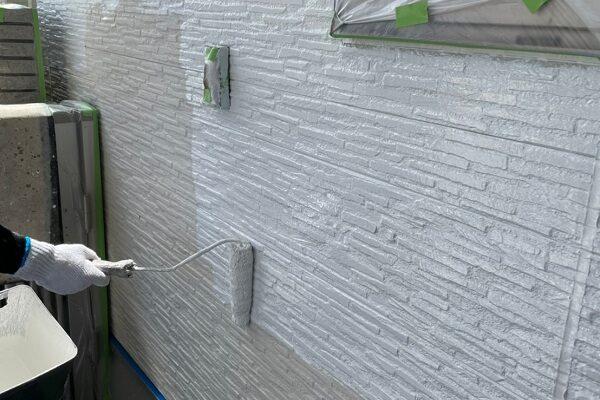 徳島県小松島市 S様邸 シーリング工事後の状態 下塗りの役割とは (1)