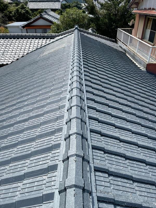 徳島県阿南市 B様邸 屋根葺き替工事 既存屋根の状態 3つの屋根メンテナンス方法とは (2)