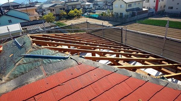 徳島市S様邸 屋根葺き替え工事_210518_2