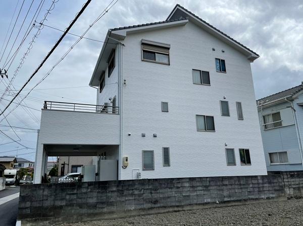 徳島県小松島市 S様邸 外壁塗装 (2)