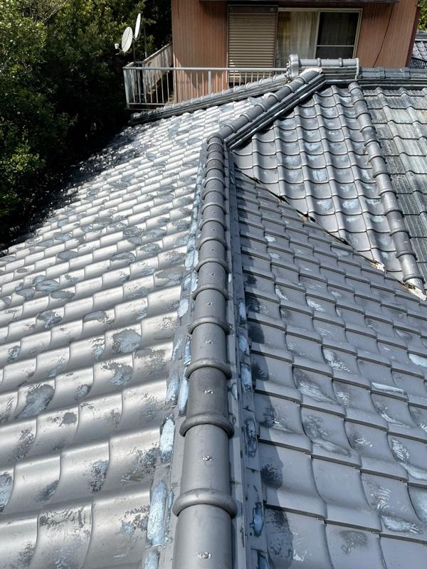 徳島県阿南市 B様邸 屋根葺き替工事 既存屋根の状態 3つの屋根メンテナンス方法とは (1)
