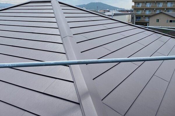 徳島県徳島市 S様邸 屋根葺き替え工事 二重野地板工法 写真付き工程 ガルバリウム鋼板 (1)