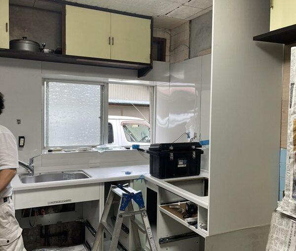 徳島県小松島市 N様邸 キッチン改修工事 施工の様子 完工 (3)