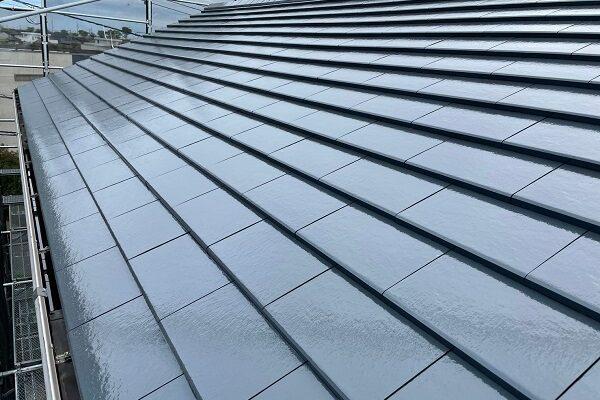 徳島県板野郡松茂町 Y様邸 屋根塗装 (2)