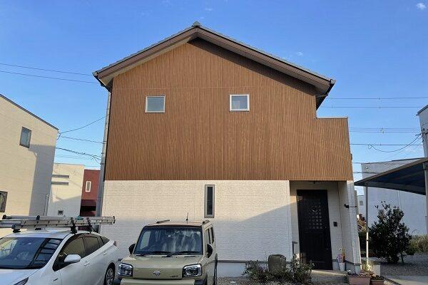 徳島県板野郡松茂町 Y様邸 屋根塗装・外壁塗装 (1)