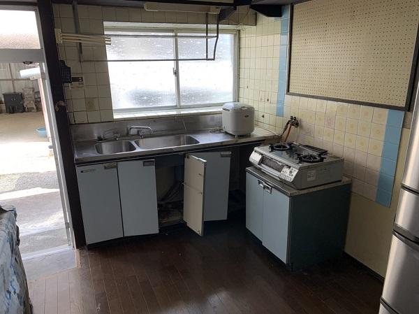 徳島県小松島市 N様邸 キッチン改修工事 施工前 (2)