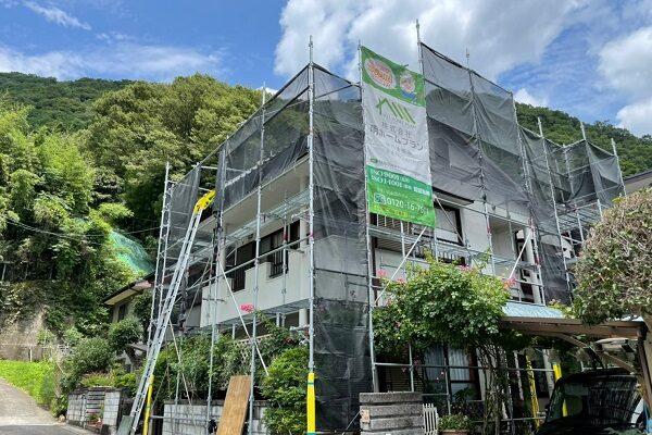 徳島県三好郡東みよし町 屋根葺き替え工事 足場が必要な理由 近隣トラブルについて