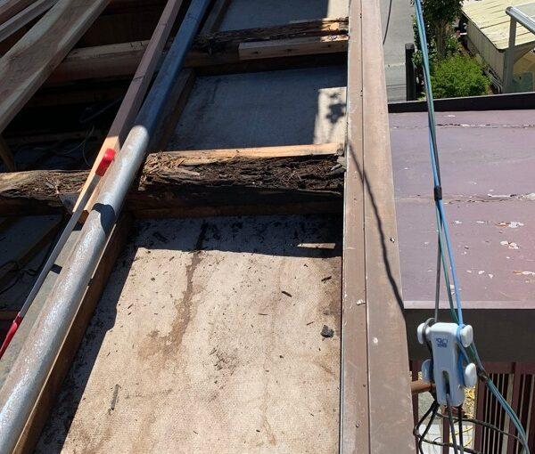 徳島県小松島市 N様邸 屋根葺き替え工事 下地の補強・張替え 野地板とは (7)