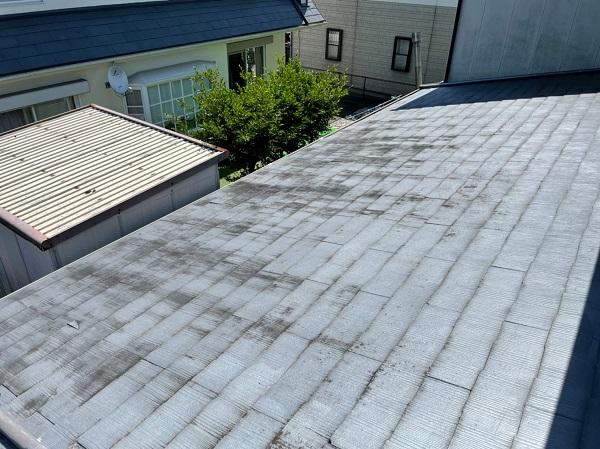 徳島県小松島市 N様邸 屋根葺き替え工事 施工前の状態 コロニアルとは