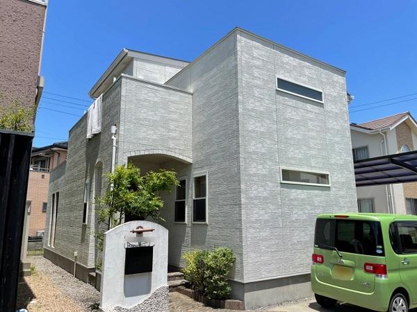 板野郡松茂町 S様邸 外壁塗装 (1)