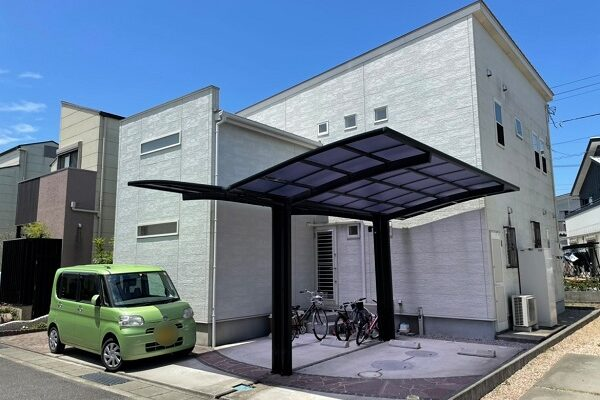 板野郡松茂町 S様邸 外壁塗装 (2)