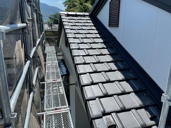 徳島県三好郡東みよし町 屋根葺き替え工事 (2)