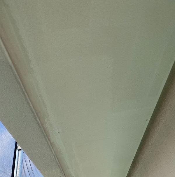 徳島県鳴門市 Y様邸 屋根塗装・外壁塗装・付帯部塗装 軒天塗装 (3)