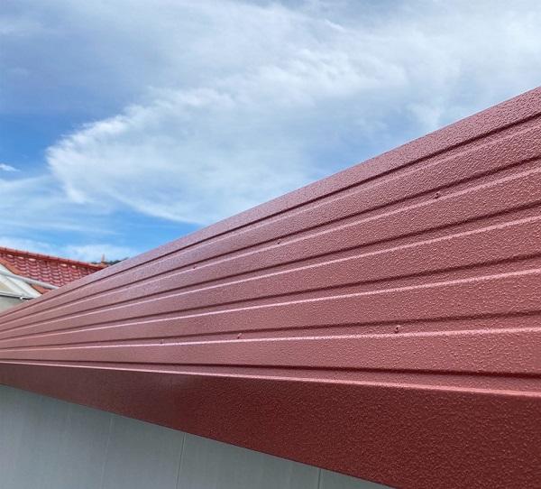 徳島県鳴門市 Y様邸 屋根塗装・外壁塗装・付帯部塗装 ハチマキ塗装 (1)