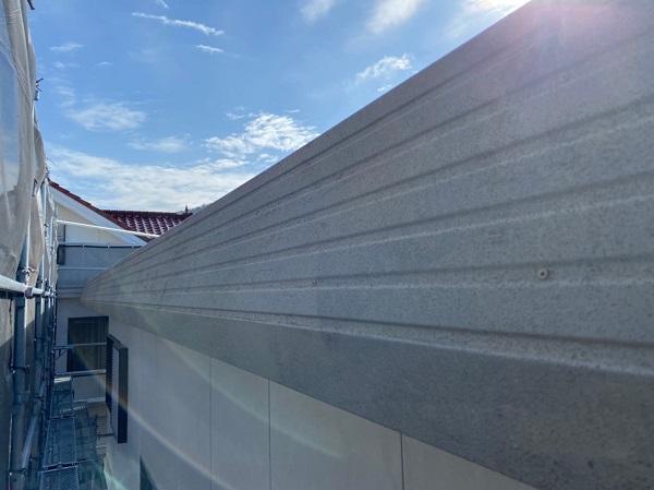 徳島県鳴門市 Y様邸 屋根塗装・外壁塗装・付帯部塗装 ハチマキ塗装 (4)