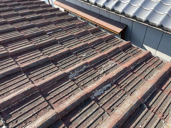 徳島県名西郡石井町 M様邸 雨漏り補修 現場調査の様子 (3)