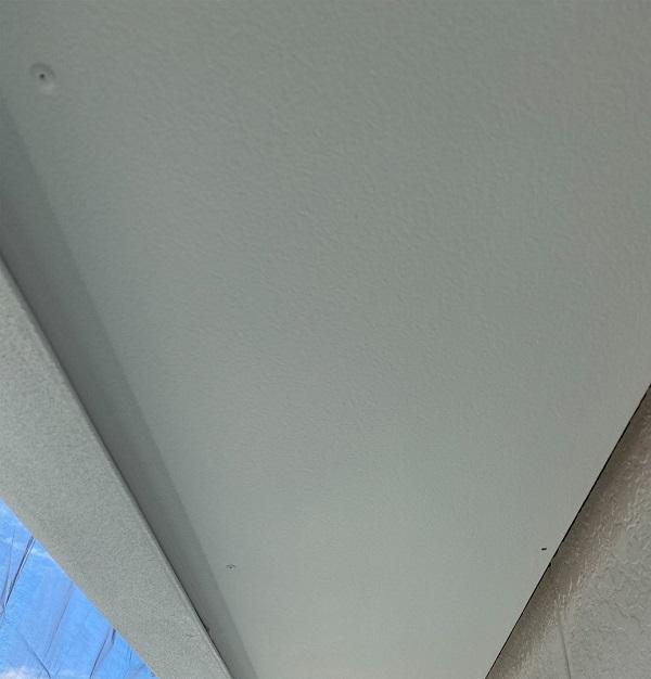 徳島県鳴門市 Y様邸 屋根塗装・外壁塗装・付帯部塗装 軒天塗装 (2)