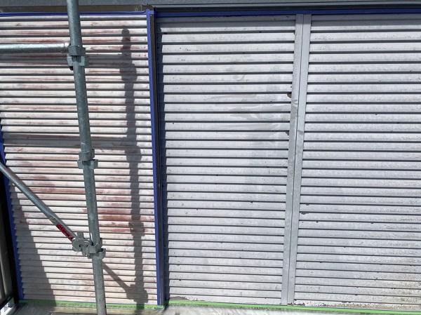 徳島県鳴門市 Y様邸 屋根塗装・外壁塗装・付帯部塗装 雨戸塗装 (2)