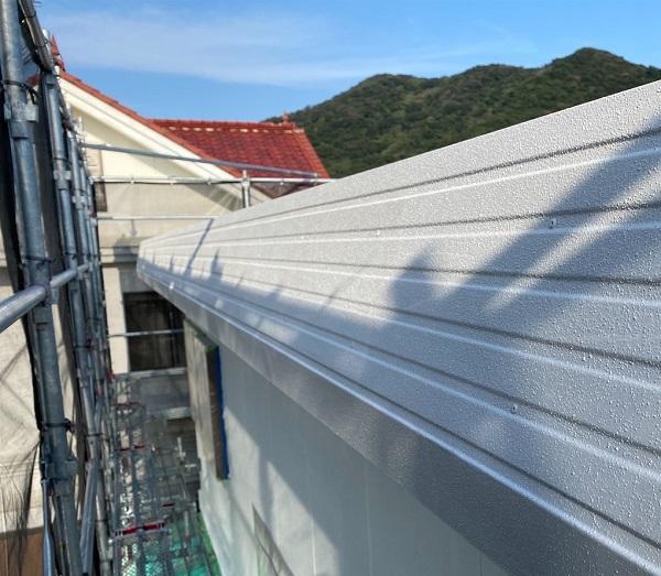 徳島県鳴門市 Y様邸 屋根塗装・外壁塗装・付帯部塗装 ハチマキ塗装 (3)